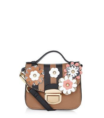 http://media.newlookassets.com/i/newlook/374056609/womens/bags-and-purses/satchels/black-3d-flower-stripe-mini-satchel