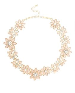 Pink Floral Necklace | New Look