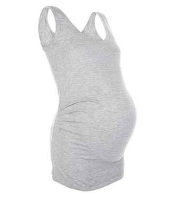 Maternity Grey Vest