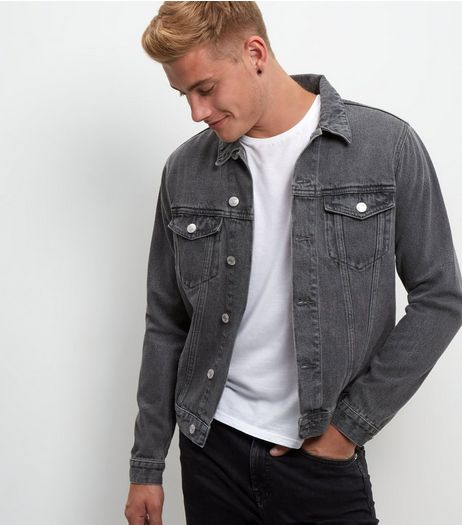 Grey Denim Jacket  | New Look