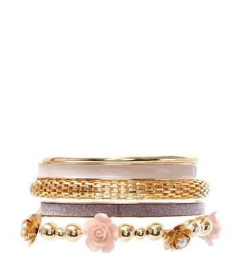 pink-carved-rose-multi-bangle-set