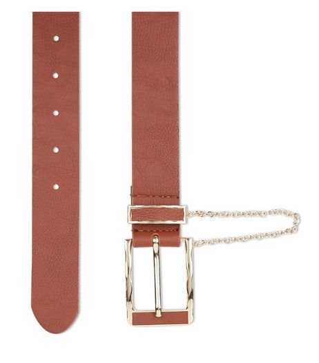 Tan Chain Jeans Belt | New Look