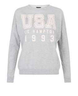 Grey USA 1993 Sweater  | New Look