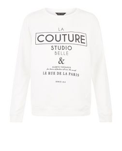 Cream LA Couture Sweater  | New Look