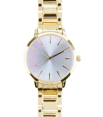 gold-iridescent-face-sports-watch