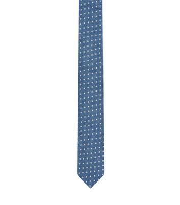 blue-spot-print-tie