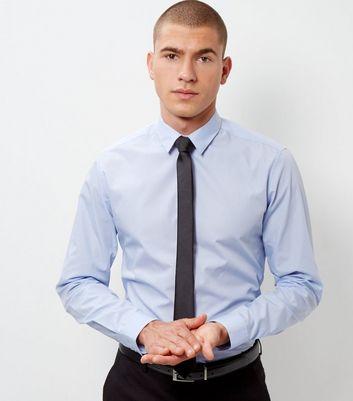 Pale Blue Long Sleeve Shirt