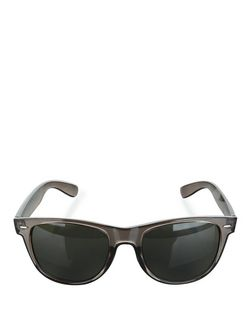 Grey Perspex Sunglasses  | New Look