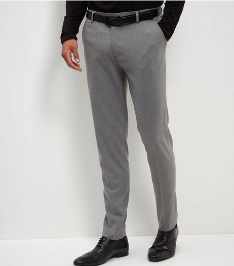 Grey Skinny Trousers  | New Look