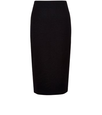 Product photo of Tall black pencil skirt