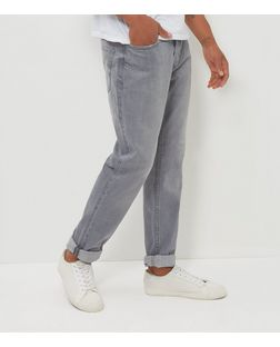 Pale Grey Slim Fit Jeans | New Look