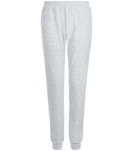 Pale Grey Pyjama Bottoms | New Look