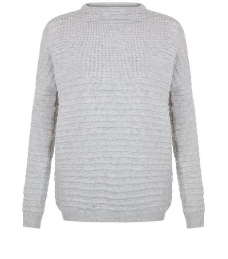 Teens Grey Textured Jumper | New Look