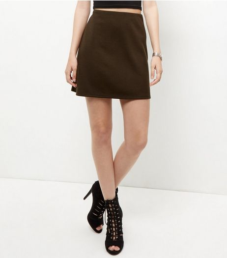 Khaki Mini Skirt  | New Look