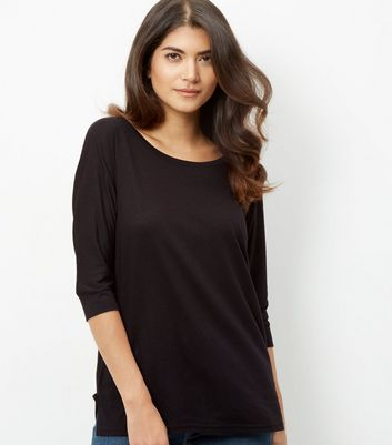black-batwing-12-sleeve-top