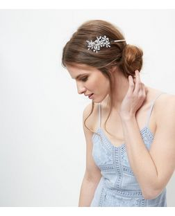 Crystal Floral Headband | New Look