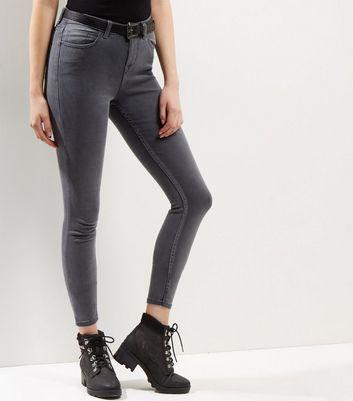 Dark Grey Supersoft Super Skinny Jeans