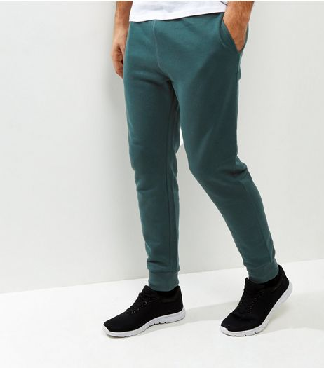 Dark Green Basic Joggers | New Look