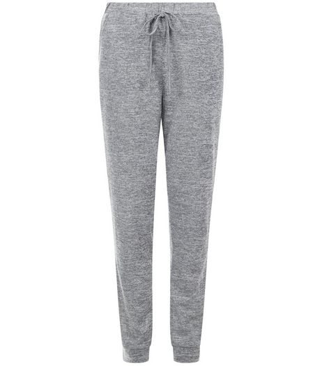 Tall Grey Drawstring Joggers | New Look