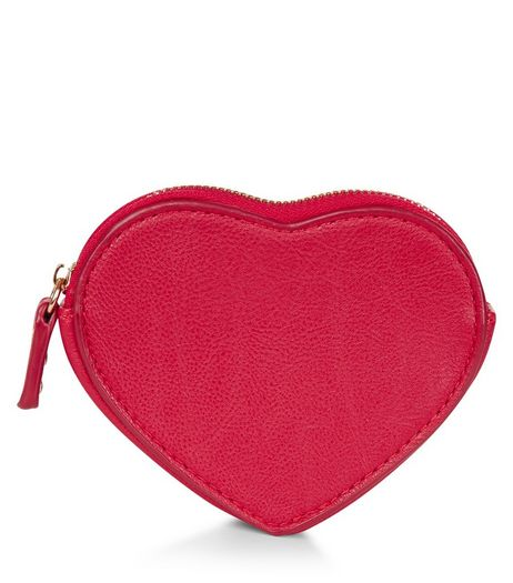 Red Heart Purse | New Look
