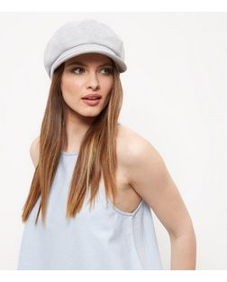 Grey Baker Boy Hat | New Look