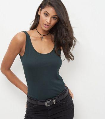 Dark Green Vest