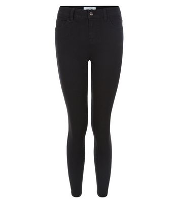 Petite Black Super Soft Super Skinny Jeans