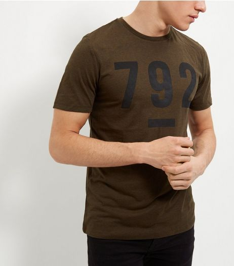 Khaki 792 T-Shirt  | New Look