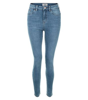 Pale Blue Authentic Skinny Jeans