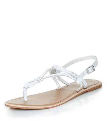white-leather-plait-strap-sandals