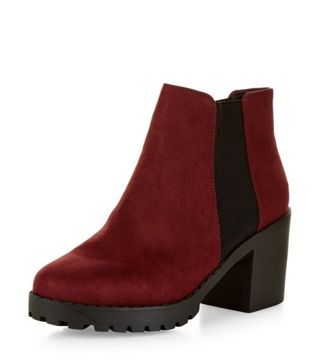 Creative  Womens Shoes  Lady Women Saint Laurent Babies Chelsea Boots In Red
