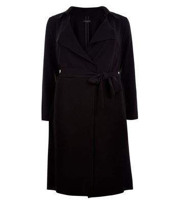 Curves Waterfall Duster Coat