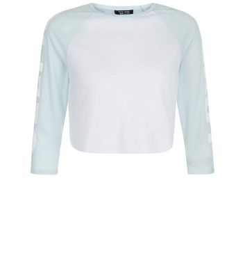 teens-blue-selfie-ready-sleeve-raglan-top