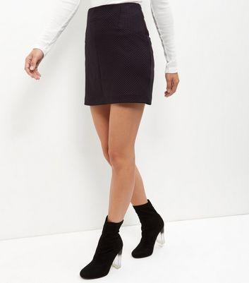 Gonna  donna Burgundy Jacquard Mini Skirt