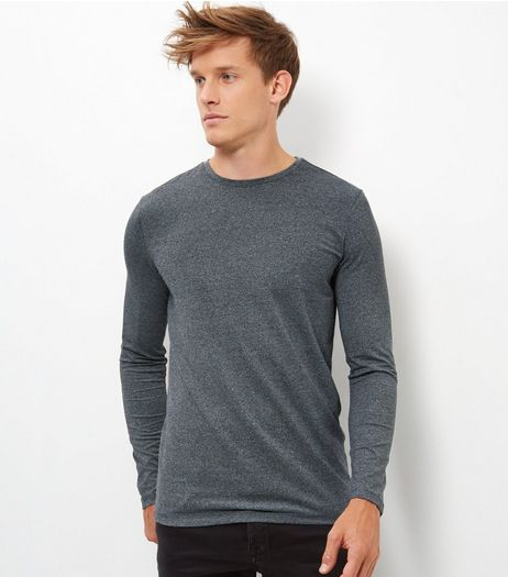 Grey Basic Crew Neck T-Shirt | New Look