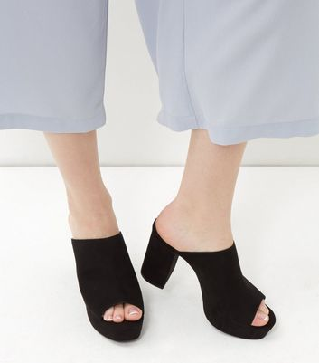 black-suedette-peep-toe-block-heel-mules