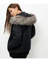 Puffer Jacket With Fur Hood - Best Jacket 2017
