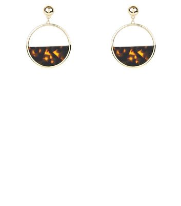 brown-tortoiseshell-print-hoop-earrings