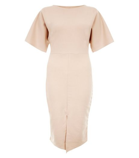 Cameo Rose Stone Bell Sleeve Dress | New Look