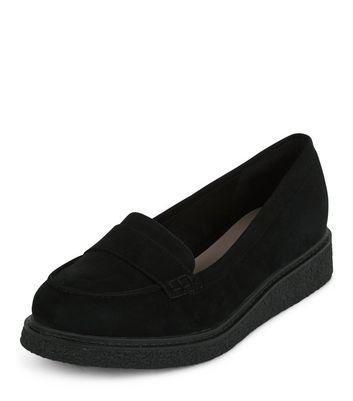 Mocassini  donna Black Creeper Loafers