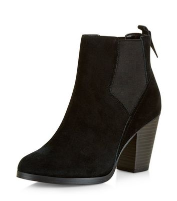 black-suede-western-chelsea-boots