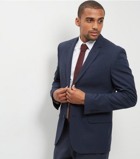 Blue Regular Suit Jacket | New Look
