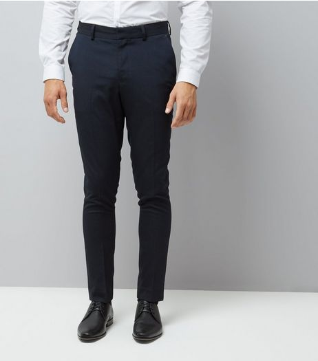 Blue Skinny Suit Trousers | New Look