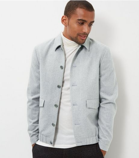 Stone Double Pocket Front Jacket | New Look