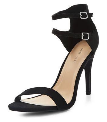 black-double-ankle-strap-heels