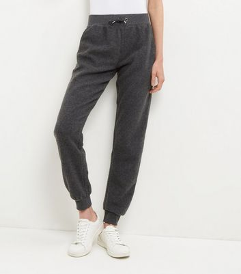 Dark Grey Brushed Joggers