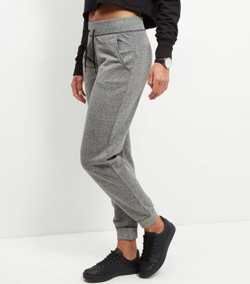 Grey Tape Side Joggers