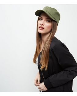 Khaki Military Cap | New Look