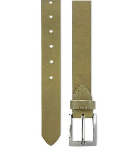 Khaki Leather Belt  | New Look