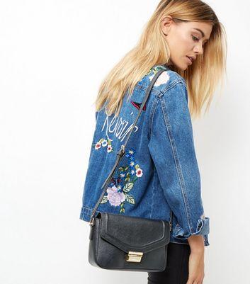 black-leather-look-across-body-bag